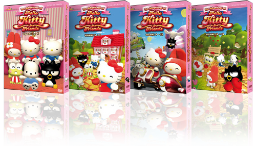 The Adventures of Hello Kitty and Friends Vol 1-4